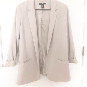 H&M Tan Blazer Size 12